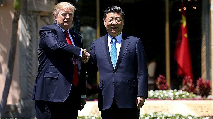 """ترامب وتشي يحرزان """"تقدما هائلا"""" في العلاقات بين أميركا والصين"""
