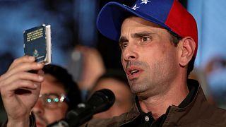 Venezuela: Opposition leader Capriles defiant despite 15-year ban