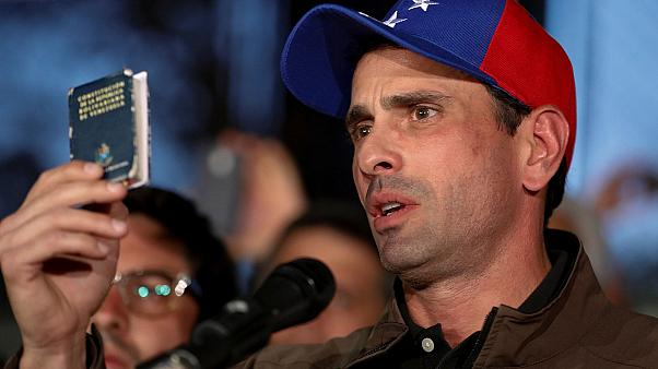 El líder opositor venezolano Henrique Capriles es inhabilitado durante 15 años