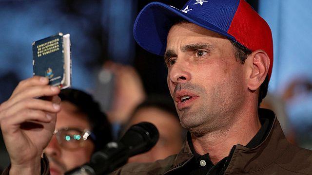 Venezuela: 15 Jahre keine Kandidatur für Oppositionsführer Henrique Capriles