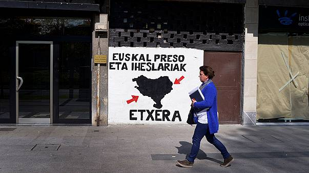 Basque separatists ETA hand police list of weapons stores