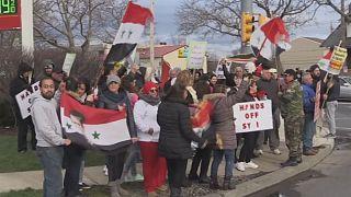 Geteilte Meinung zum amerikanischen Angriff unter Syrern in den USA