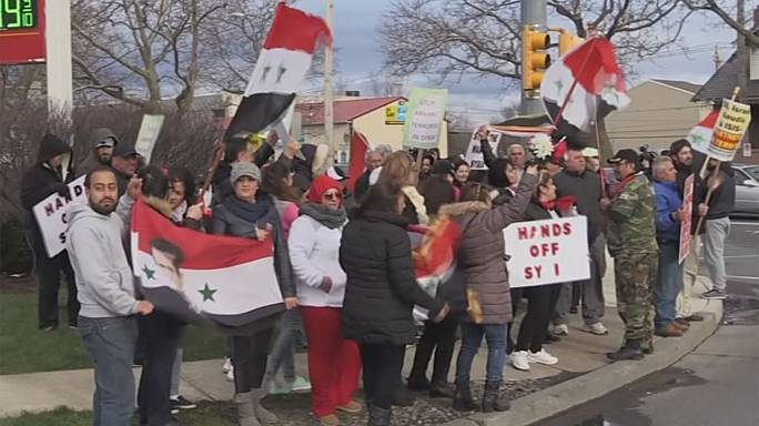Syrian Americans divided over Trump after US missile strikes