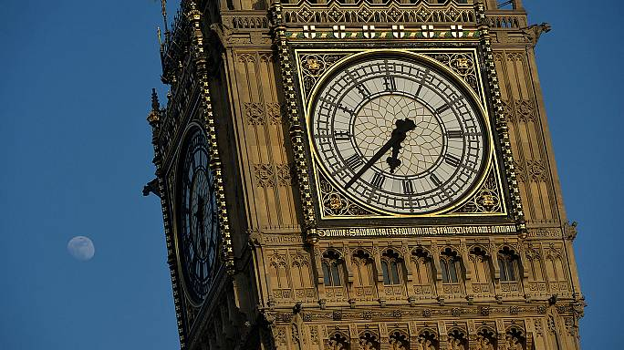 Repair work underway on London's iconic Big Ben tower