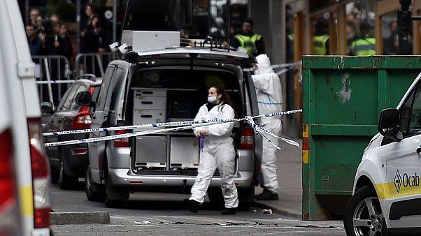 Anschlag in Stockholm: Täter gefasst - Motiv unklar