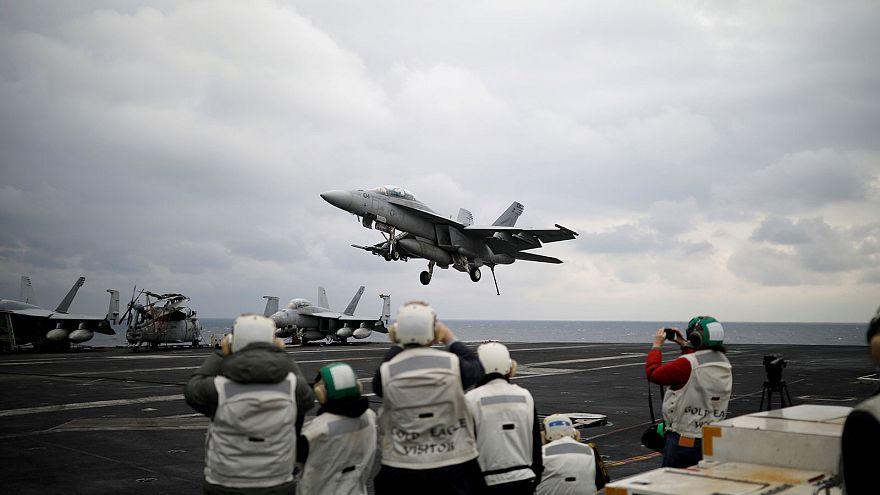 Hadihajókat vezényelt az USA a Csendes-óceánra