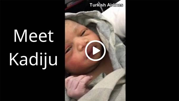 Born on a Turkish Airlines flight at 42,000 feet