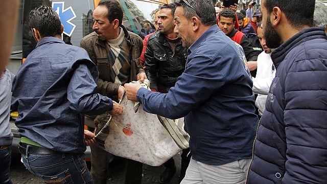 Теракты в Египте: взрыв у христианской церкви в Александрии