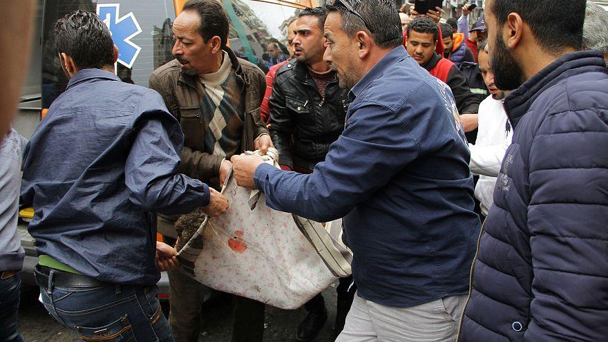 ارتفاع عدد ضحايا الاعتداء الانتحاري على كنسية في الاسكندرية إلى 16 قتيلا