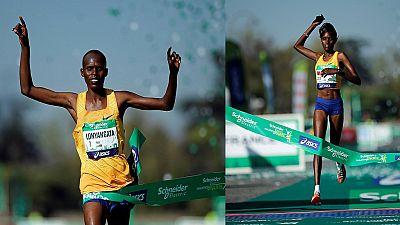 Marathon de Paris: une victoire kényane en couple