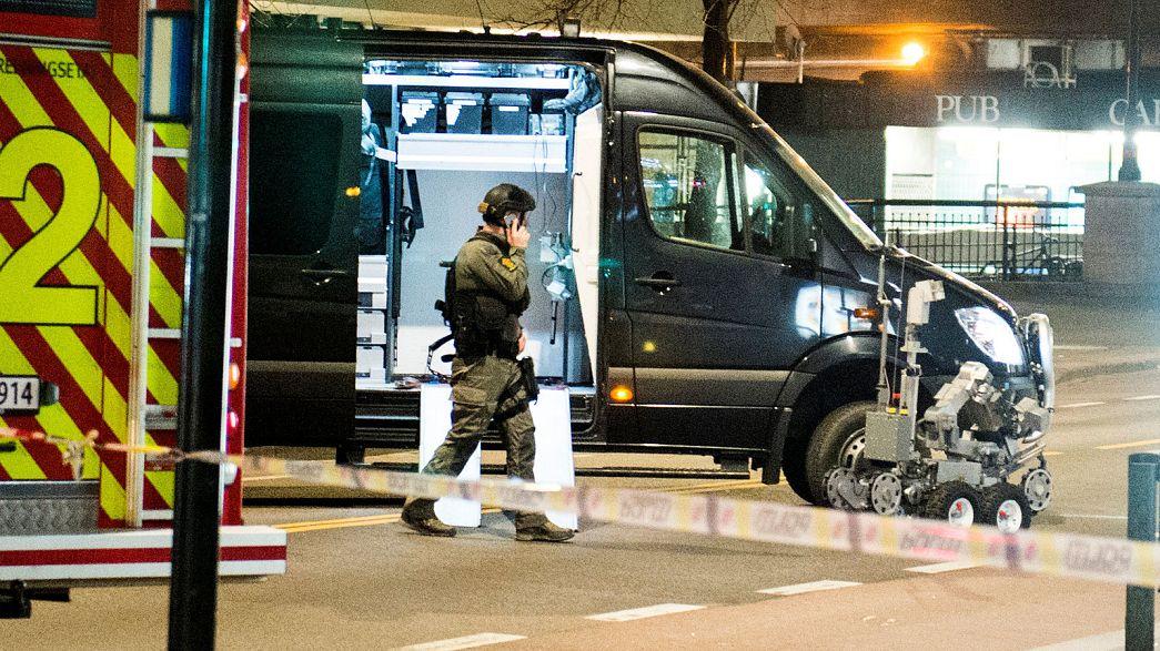 """Norvège : la police fait exploser un """"engin suspect"""" à Oslo, un suspect arrêté"""