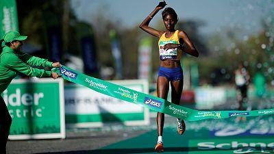 Kenyan couple scoops Paris Marathon honours