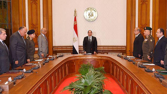 الرئيس المصري عبد الفتاح السيسي يعلن حالة الطوارئ