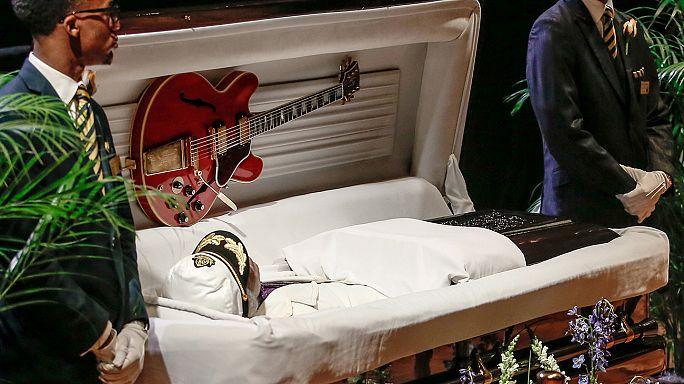 Chuck Berry, último adiós en San Luis