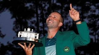 El golfista español Sergio García gana el Masters de Augusta