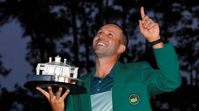 Sergio García wins first major at US Masters, congratulations flood in