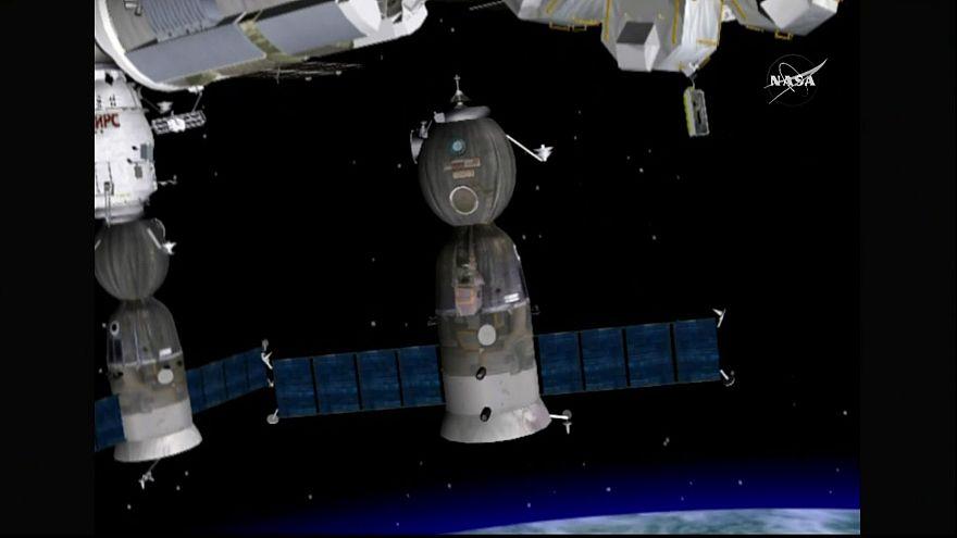 Retour sur terre réussi pour les trois astronautes de l'ISS