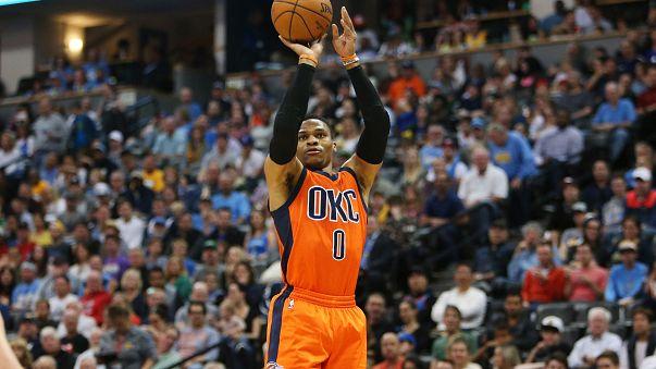NBA, Westbrook da record: 42esima tripla doppia!