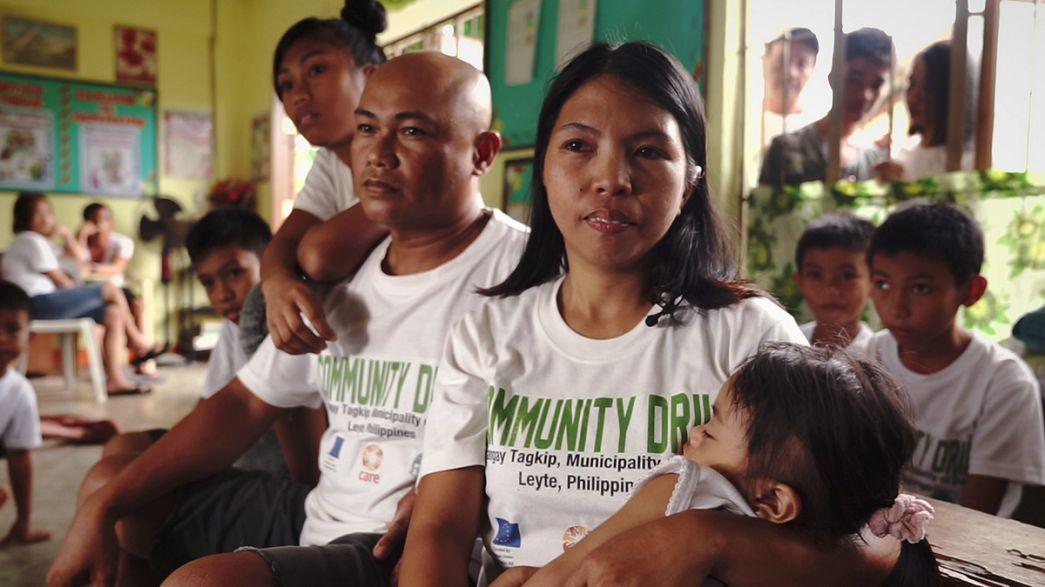 Újjáépítés a Fülöp-szigeteken - nemzetközi segítséggel