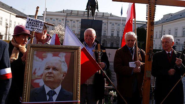 Polen gedenkt der Opfer der Flugzeugkatastrophe von Smolensk