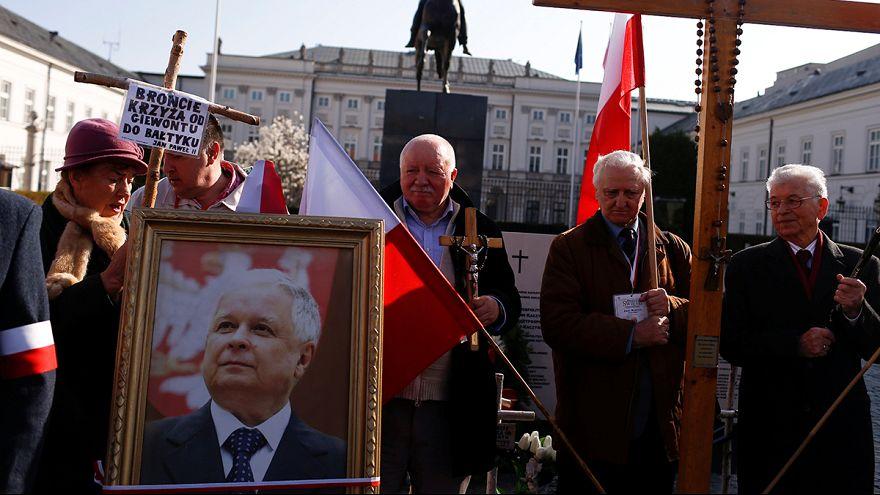 Poland marks anniversary of presidential plane crash
