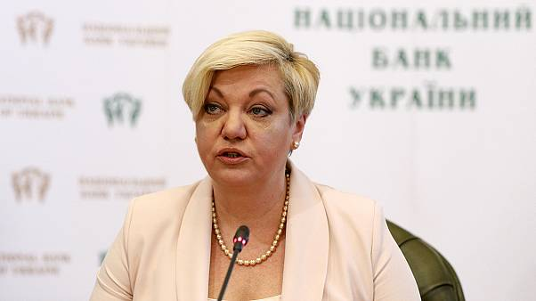Dimite la presidenta del Banco Central ucraniano