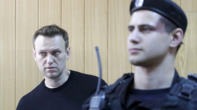Oppositionspolitiker Nawalny aus Haft entlassen
