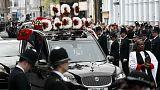 Cerimónia fúnebre do mais recente herói britânico em Londres
