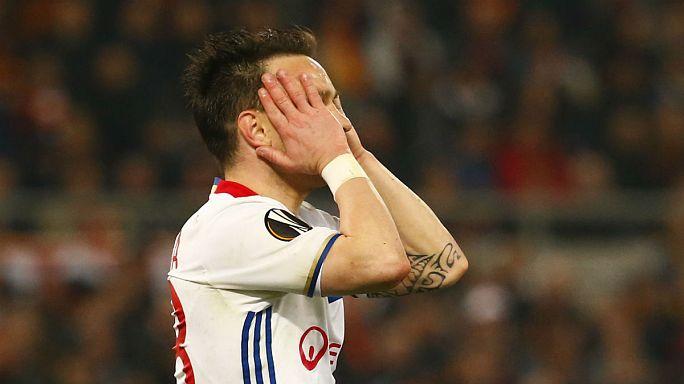 Olympique Lyon krizden çıkışı Avrupa Ligi'nde arıyor