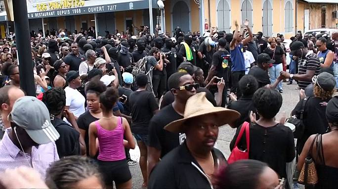 Protests grind French Guiana to a halt