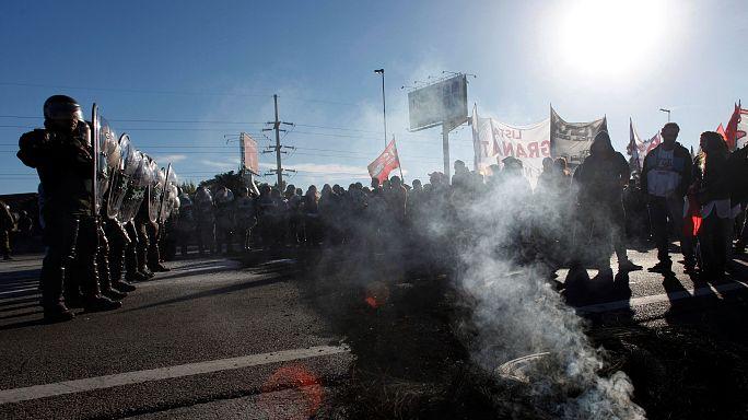 Eldurvult az argentin tanárok tiltakozása