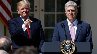 Trump's choice Neil Gorsuch sworn in as Supreme Court judge