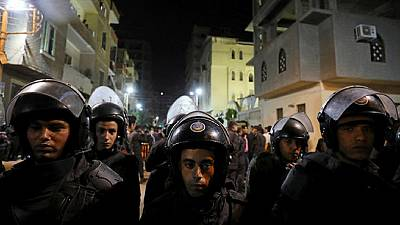 Egypt: Palestinians and Egyptians protest against attacks