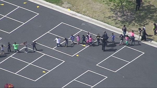 إطلاق نار داخل مدرسة نورث بارك في مدينة سان برناندينو الابتدائية في ولاية كاليفورنيا الأميريكية.