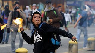 مخالفان دولت ونزوئلا بار دیگر در خیابان های پایتخت