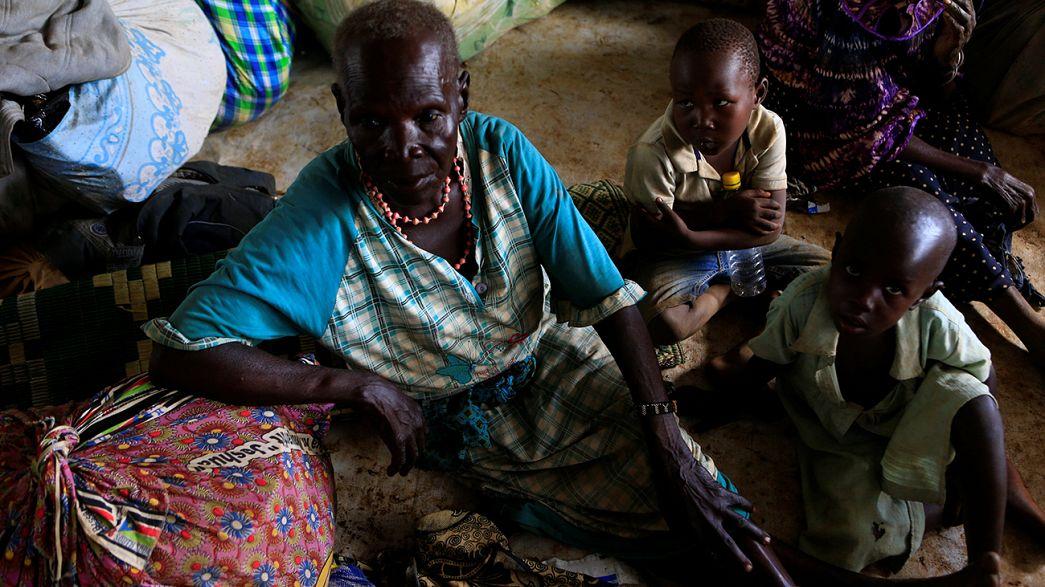 Les réfugiés sud-soudanais affluent à la frontière ougandaise