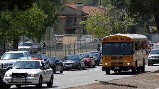 El tiroteo en una escuela de San Bernardino deja tres muertos y un herido