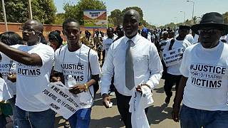 Gambia's Justice Minister joins protest against Jammeh-era atrocities