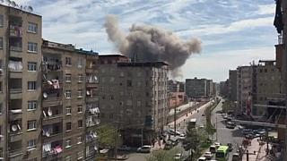 Violenta explosão em Diyarbakir