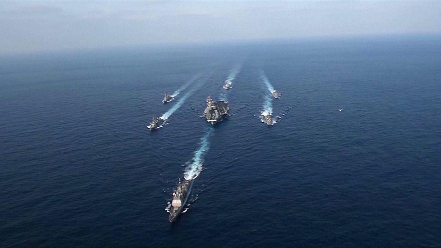 КНДР готова начать войну в ответ на отправку США к ее берегам группы кораблей