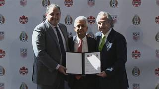 US, Mexico, Canada announce joint bid for World Cup 2026