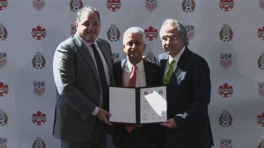 2026-os vb: az Egyesült Államok, Mexikó és Kanada közösen pályázik