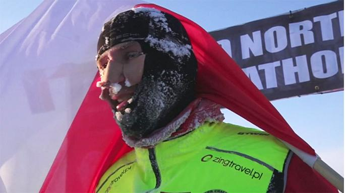 North Pole hosts 'world's coolest race'