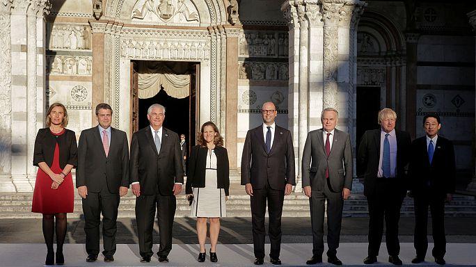 G7 não aplica sanções à Rússia e Síria