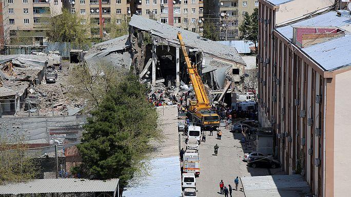 Fuerte explosión en la localidad turca de Diyarbakir