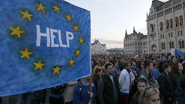 У Європі обговорюють угорські справи