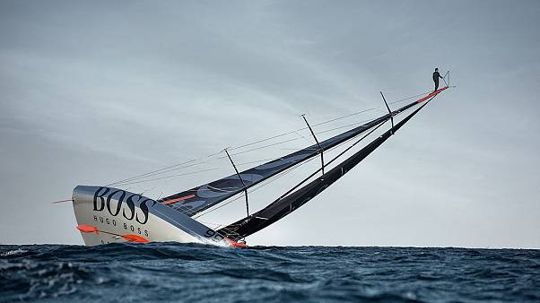 Sailing alongside British star-skipper Alex Thomson