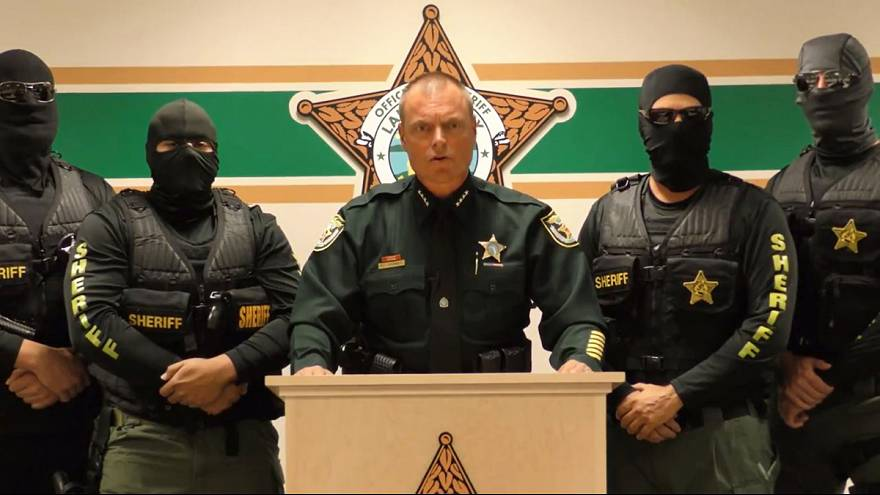 Florida sheriff's stern message to heroin dealers compared to ISIL video