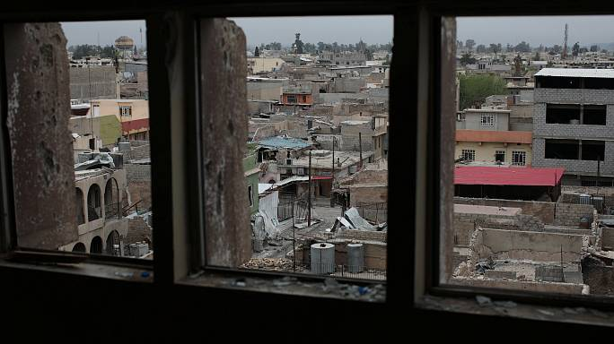 Las fuerzas iraquíes entran en un nuevo barrio del oeste de Mosul