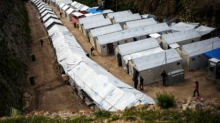Greece's island refugee camps buckle under the strain